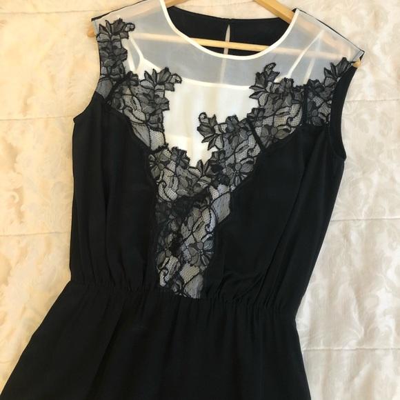Sandro designer 100% silk dress